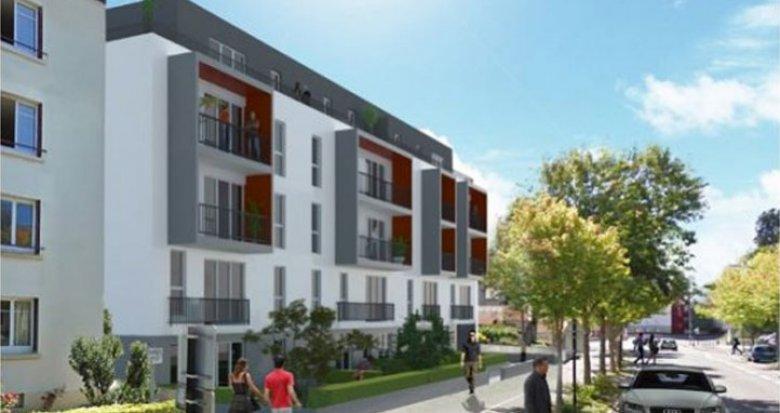 Achat / Vente programme immobilier neuf Nantes bord des rives de l'Erdre (44000) - Réf. 895