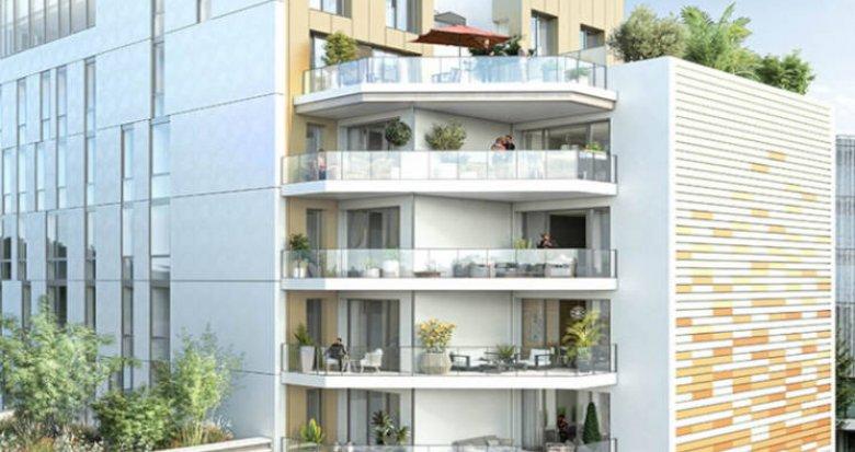 Achat / Vente programme immobilier neuf Nantes centre Champ de Mars (44000) - Réf. 6213