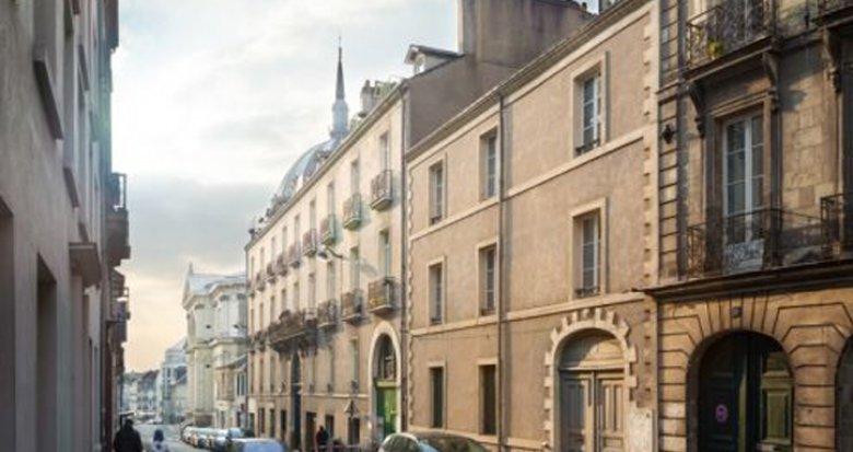 Achat / Vente programme immobilier neuf Nantes coeur centre historique (44000) - Réf. 29
