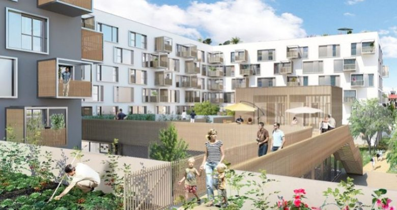 Achat / Vente programme immobilier neuf Nantes écoquartier Prairie au Duc (44000) - Réf. 1571