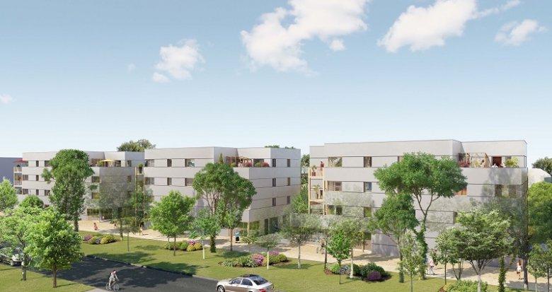 Achat / Vente programme immobilier neuf Nantes Erdre Porterie (44000) - Réf. 2215