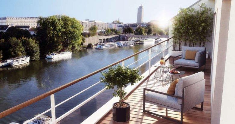 Achat / Vente programme immobilier neuf Nantes face à l'Erdre (44000) - Réf. 1173