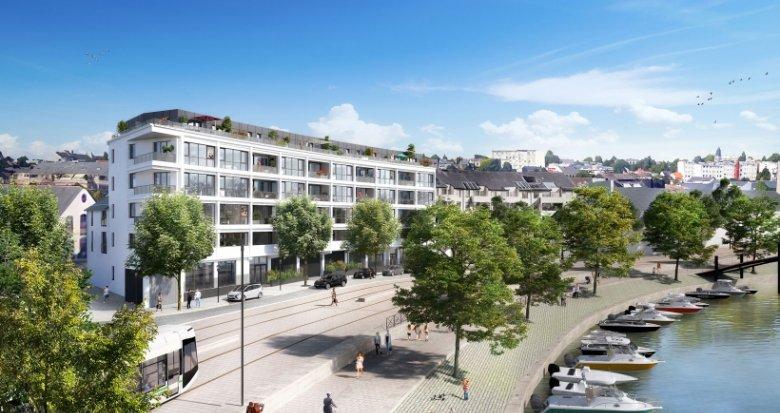 Achat / Vente programme immobilier neuf Nantes face à l'Ile de Versailles (44000) - Réf. 2232