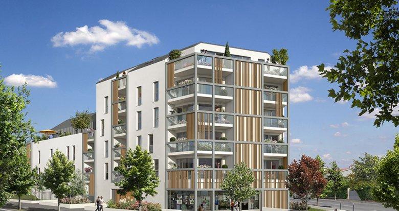 Achat / Vente programme immobilier neuf Nantes face au Parc de Procé (44000) - Réf. 2066