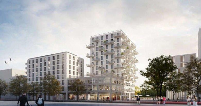 Achat / Vente programme immobilier neuf Nantes face parc métropolitain (44000) - Réf. 1098