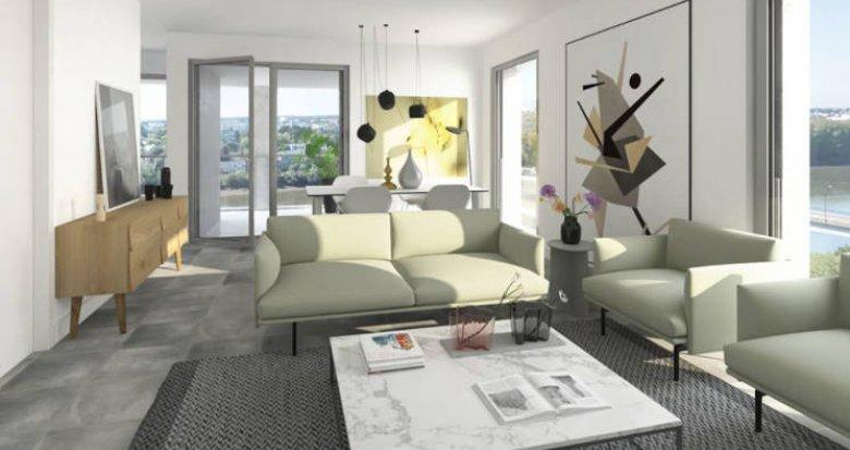 Achat / Vente programme immobilier neuf Nantes île Beaulieu proche commerces (44000) - Réf. 4631