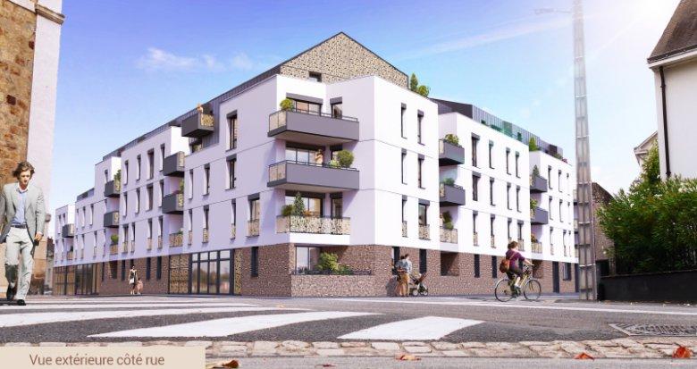 Achat / Vente programme immobilier neuf Nantes nouveau quartier Canclaux (44000) - Réf. 3487