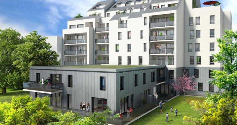 Achat / Vente programme immobilier neuf Nantes Parc de Procée (44000) - Réf. 1440