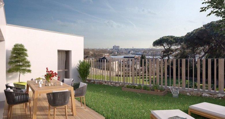 Achat / Vente programme immobilier neuf Nantes Parc des Oblates (44000) - Réf. 229