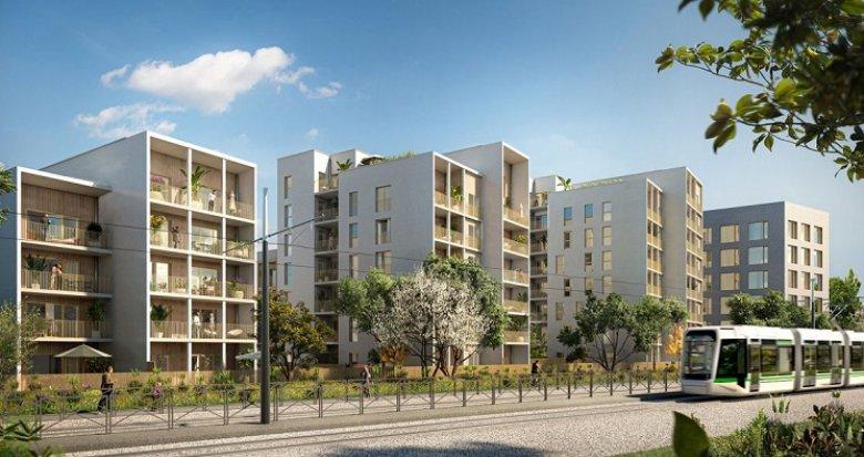 Achat / Vente programme immobilier neuf Nantes proche de la Roseraie (44000) - Réf. 6171