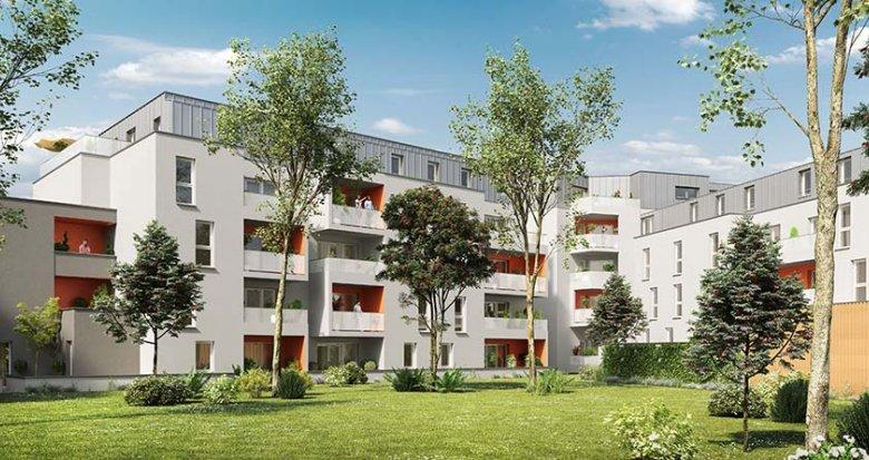 Achat / Vente programme immobilier neuf Nantes proche du Parc de la Crapaudine (44000) - Réf. 1726