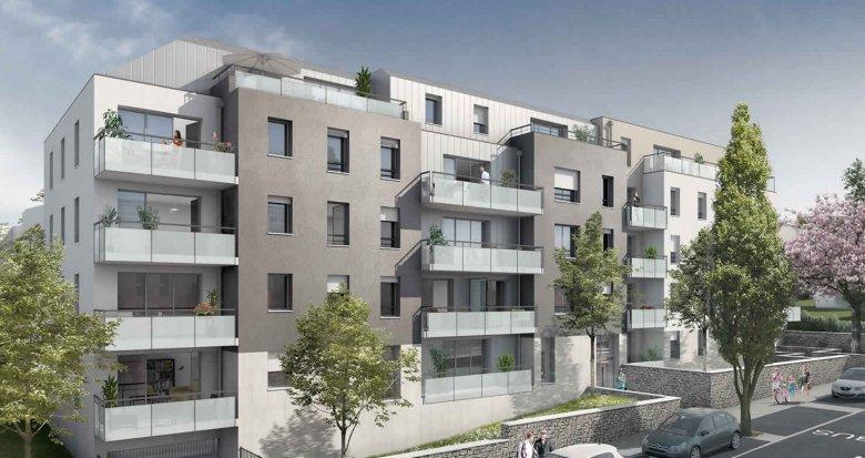 Achat / Vente programme immobilier neuf Nantes proche du Parc de la Gaudinière (44000) - Réf. 286