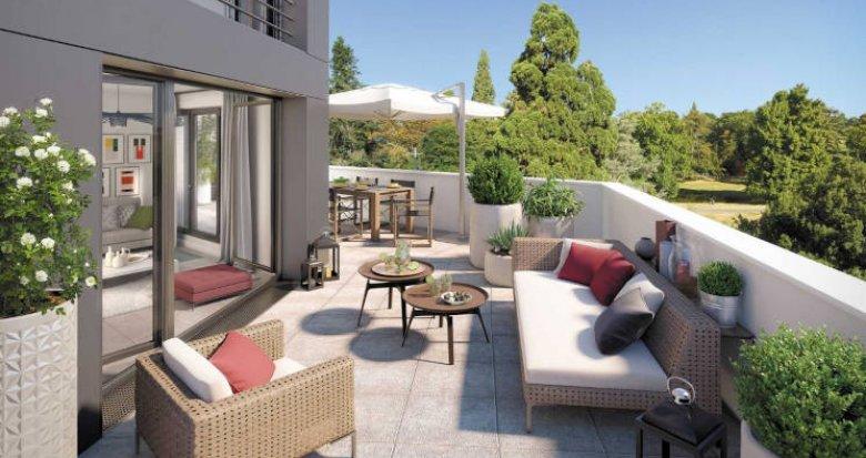 Achat / Vente programme immobilier neuf Nantes proche du parc de Procé (44000) - Réf. 5846
