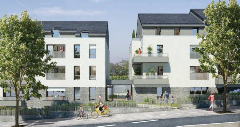 Achat / Vente programme immobilier neuf Nantes proche du parc de Procé (44000) - Réf. 3489