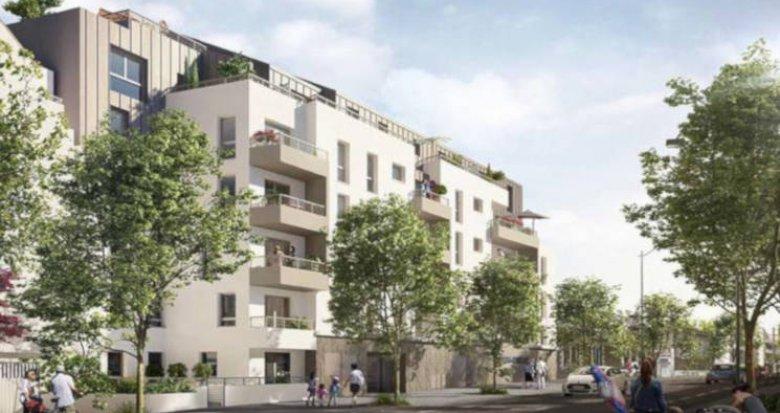 Achat / Vente programme immobilier neuf Nantes proche du Parc du Procé (44000) - Réf. 3421