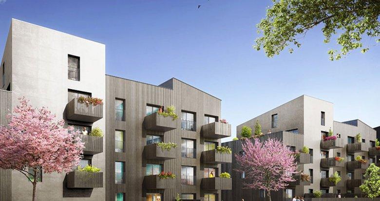 Achat / Vente programme immobilier neuf Nantes proche du Parc floral de la Roseraie (44000) - Réf. 2058