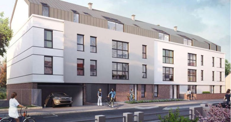 Achat / Vente programme immobilier neuf Nantes proche église Ste Thérèse (44000) - Réf. 686