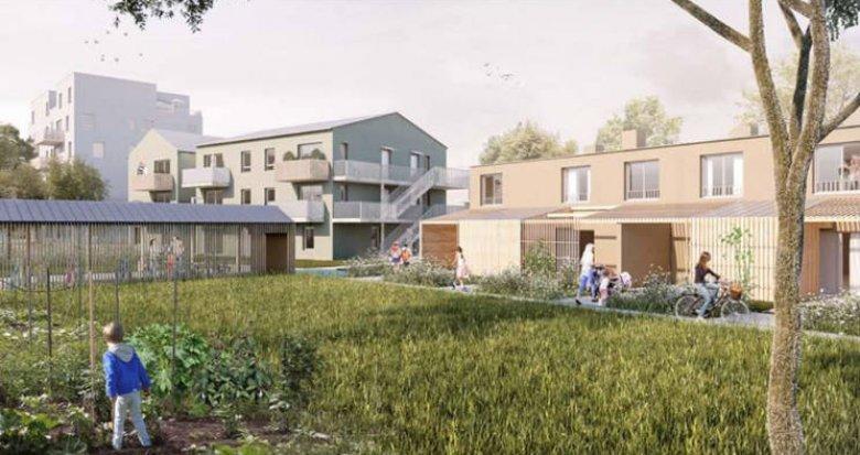Achat / Vente programme immobilier neuf Nantes proche Erdre dans un quartier calme (44000) - Réf. 4065