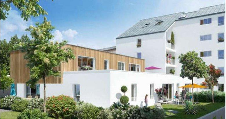 Achat / Vente programme immobilier neuf Nantes proche Jardin des Plantes (44000) - Réf. 364