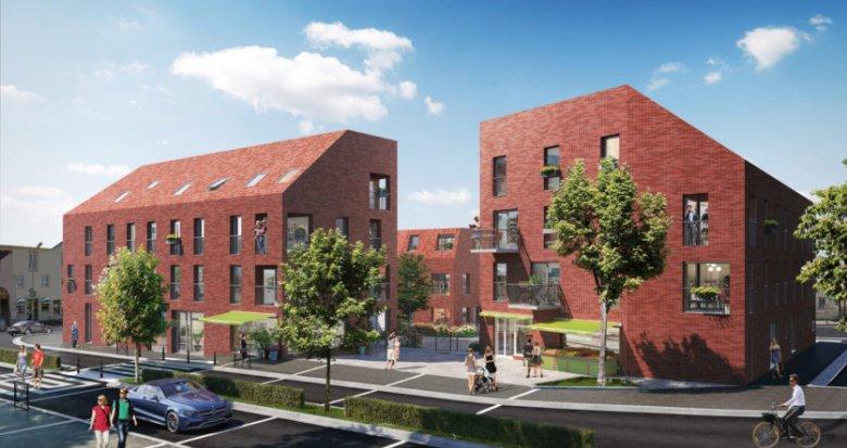 Achat / Vente programme immobilier neuf Nantes proche parc de la roseraie (44000) - Réf. 2216
