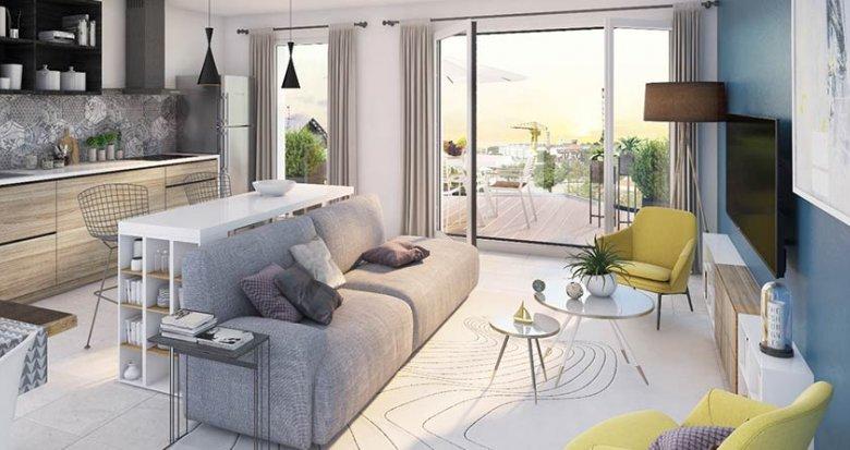Achat / Vente programme immobilier neuf Nantes proche parc des Chantiers (44000) - Réf. 1212