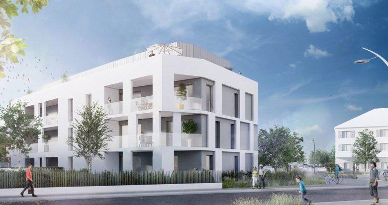Achat / Vente programme immobilier neuf Nantes proche parc du Grand Blottereau (44000) - Réf. 707