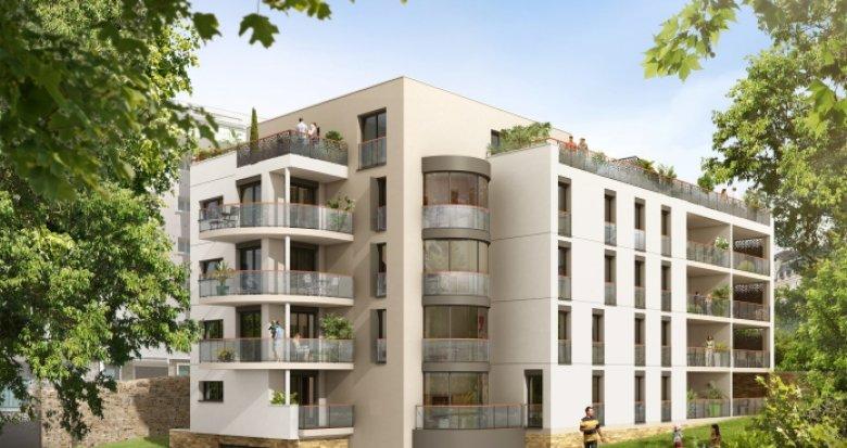 Achat / Vente programme immobilier neuf Nantes proche place de Canclaux (44000) - Réf. 122