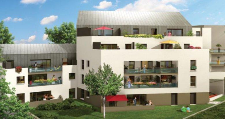 Achat / Vente programme immobilier neuf Nantes proche place Zola (44000) - Réf. 27