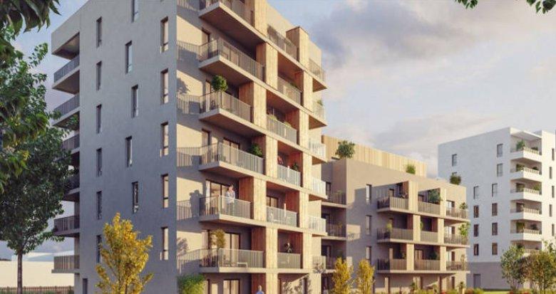 Achat / Vente programme immobilier neuf Nantes proche quartier Erdre-Porterie (44000) - Réf. 3231