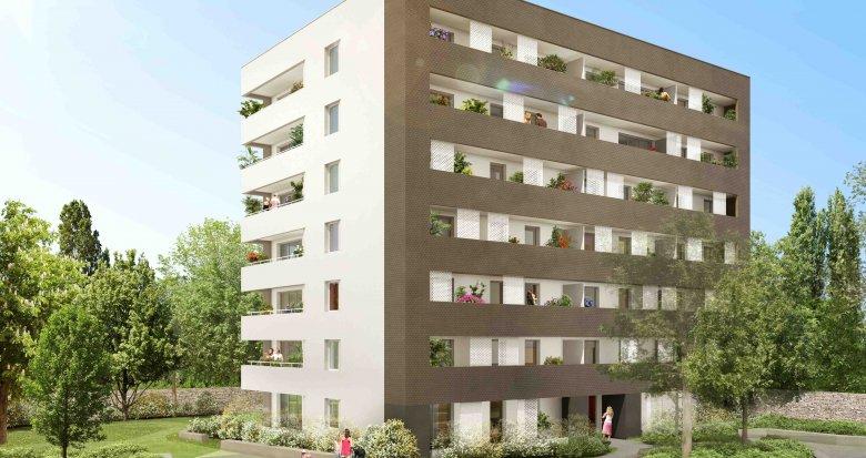 Achat / Vente programme immobilier neuf Nantes proche Sèvre Nantaise (44000) - Réf. 254
