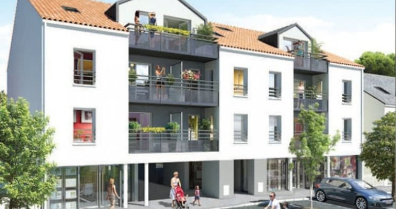 Achat / Vente programme immobilier neuf Nantes proche Tharon-Plage (44000) - Réf. 507
