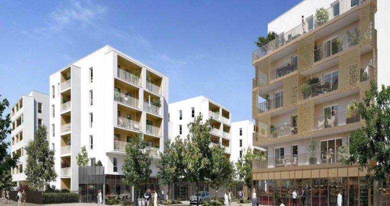Achat / Vente programme immobilier neuf Nantes proximité parc de Beaujoire (44000) - Réf. 5462