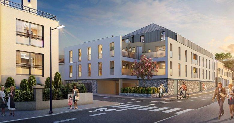 Achat / Vente programme immobilier neuf Nantes quartier Canclaux-Procé (44000) - Réf. 2101