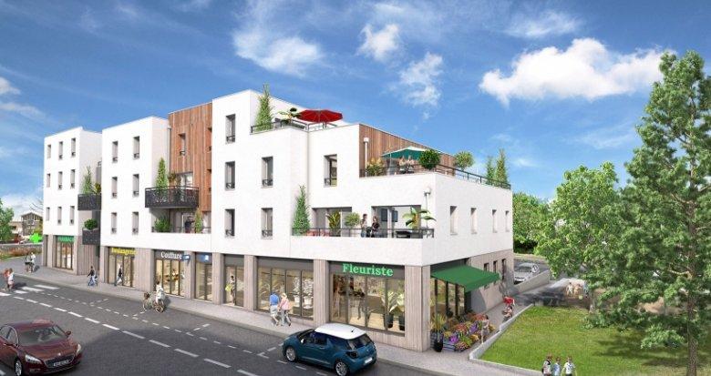 Achat / Vente programme immobilier neuf Nantes quartier Cens (44000) - Réf. 1379