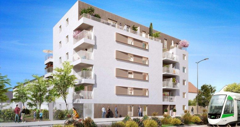 Achat / Vente programme immobilier neuf Nantes quartier Croix Bonneau (44000) - Réf. 790