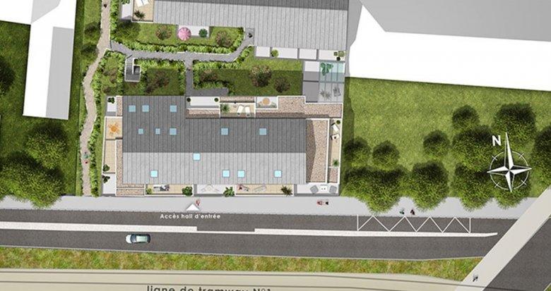 Achat / Vente programme immobilier neuf Nantes quartier Croix Bonneau (44000) - Réf. 1921