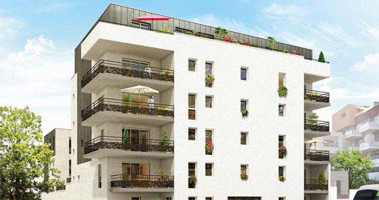 Achat / Vente programme immobilier neuf Nantes quartier de Dervallières (44000) - Réf. 1437