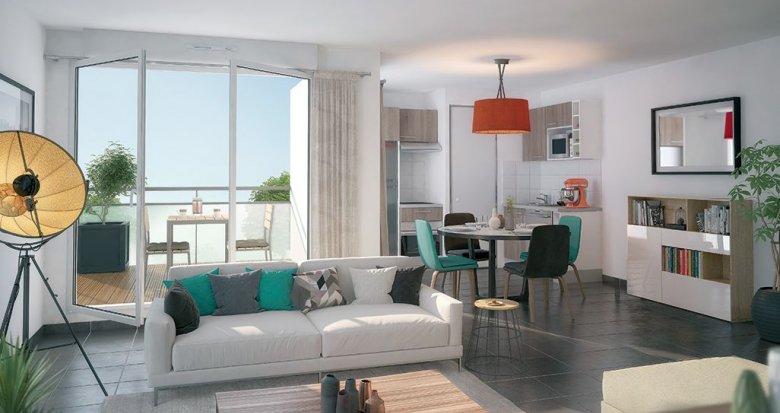 Achat / Vente programme immobilier neuf Nantes quartier de l'hippodrome (44000) - Réf. 339