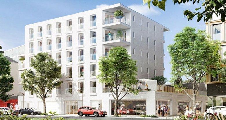 Achat / Vente programme immobilier neuf Nantes quartier de la Création (44000) - Réf. 1054