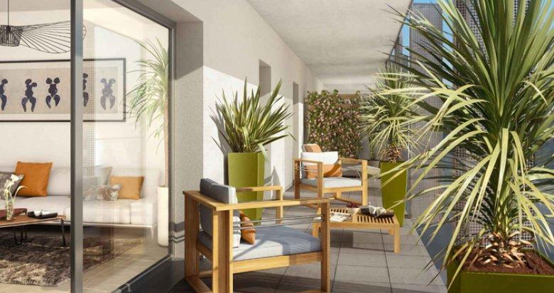 Achat / Vente programme immobilier neuf Nantes quartier de la Création (44000) - Réf. 1413