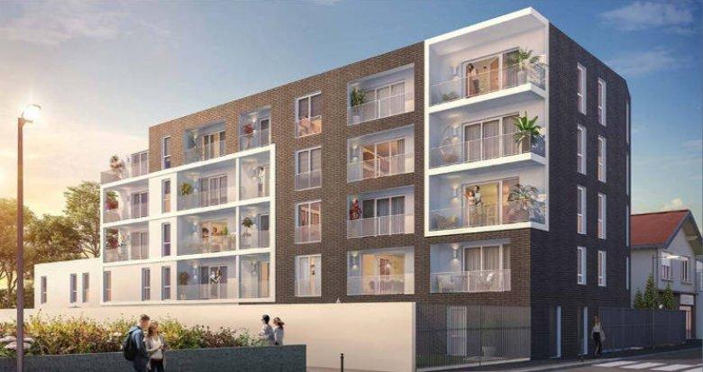 Achat / Vente programme immobilier neuf Nantes quartier de la Gaudinière proche commodités (44000) - Réf. 5266