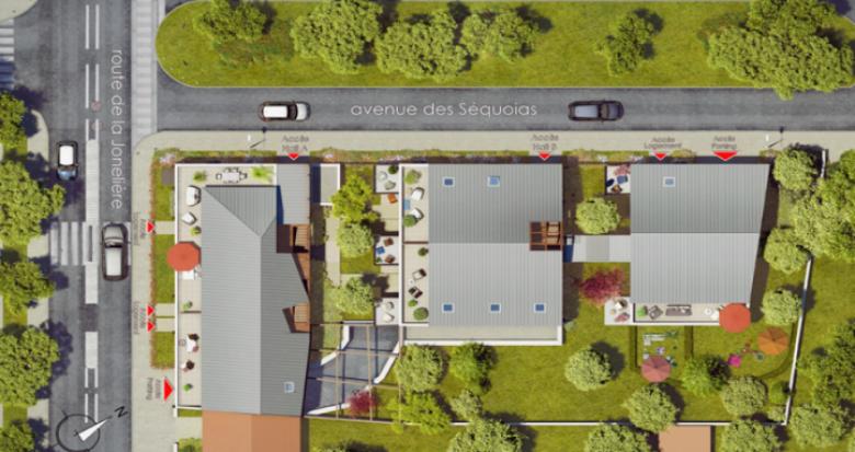 Achat / Vente programme immobilier neuf Nantes, quartier de la Jonelière (44000) - Réf. 738