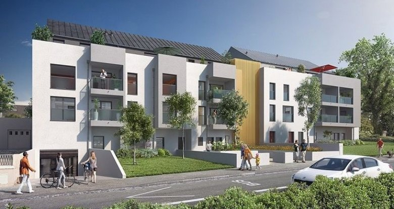 Achat / Vente programme immobilier neuf Nantes quartier des facs (44000) - Réf. 1450