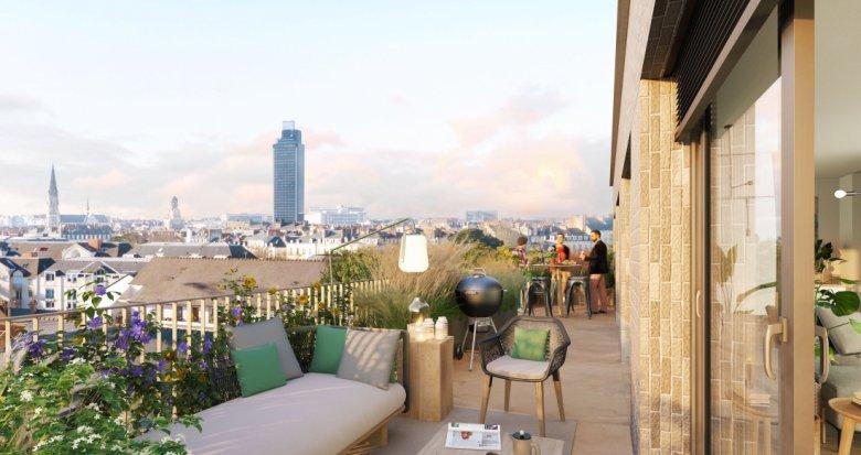 Achat / Vente programme immobilier neuf Nantes quartier des Olivettes (44000) - Réf. 6112
