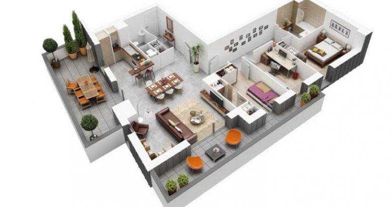Achat / Vente programme immobilier neuf Nantes quartier Dlaby (44000) - Réf. 2681