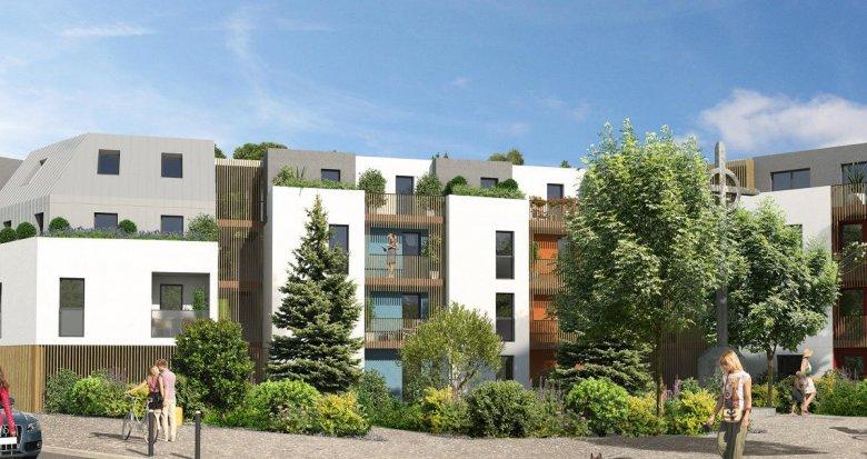 Achat / Vente programme immobilier neuf Nantes quartier Doulon Bottière (44000) - Réf. 296
