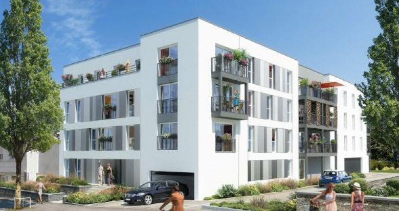 Achat / Vente programme immobilier neuf Nantes quartier du pont du Cens (44000) - Réf. 1001