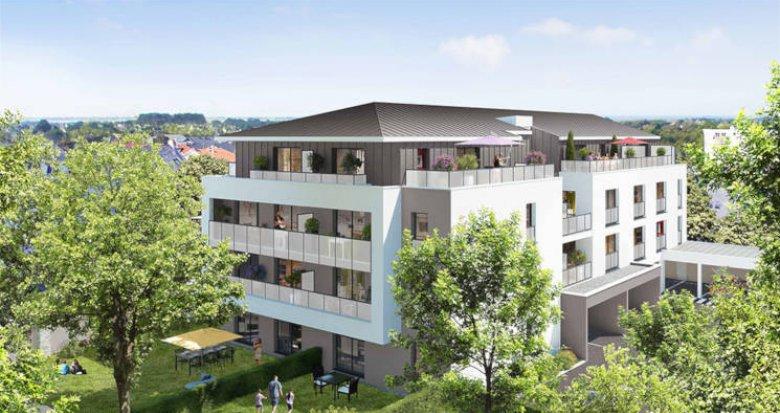 Achat / Vente programme immobilier neuf Nantes quartier Gaudinière (44000) - Réf. 3861