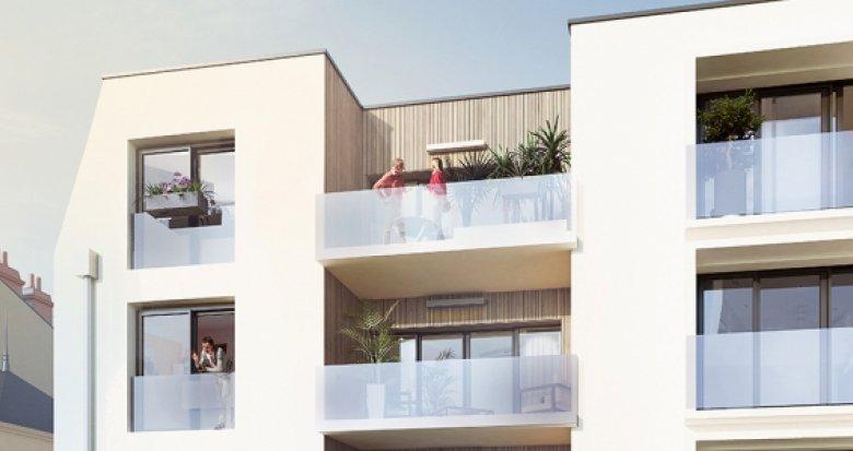 Achat / Vente programme immobilier neuf Nantes quartier Guist'hau (44000) - Réf. 2105