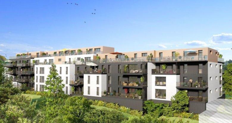 Achat / Vente programme immobilier neuf Nantes quartier Guist'hau (44000) - Réf. 1525